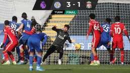 Leicester City remonta y golea al Liverpool