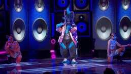"""Cebra canta """"Reggaetón lento"""" en ¿Quién es la Máscara?"""