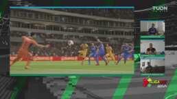 ¡Qué baile a Cruz Azul! Valencia en un mano a mano consigue el 2-0
