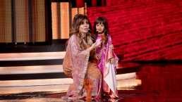 Verónica Castro canta 'Mala noche' junto a participante de 'Pequeños Gigantes'