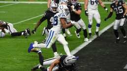 Resumen   Los Colts derrotan a domicilio 44-27 a los Raiders