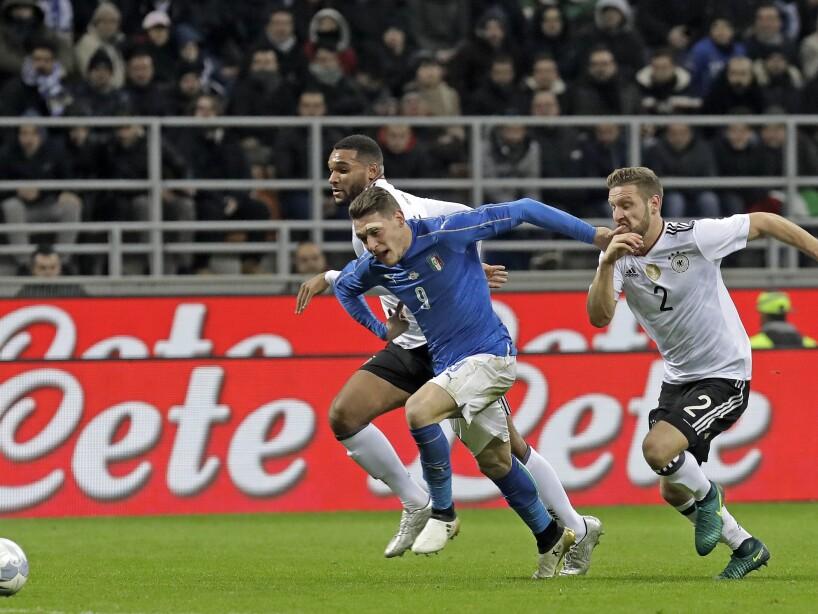 Italy Germany Soccer