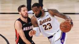 Resumen | Lakers se corona tras vencer 106-93 a Miami Heat