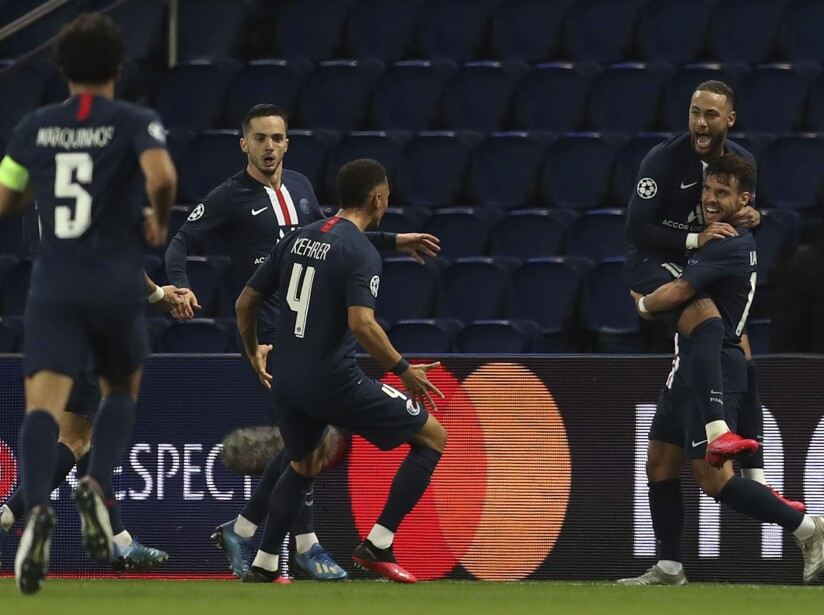 France Soccer Champions League Virus Outbreak