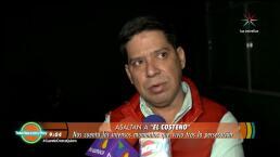 """¡Javier Carranza """"El Costeño"""" víctima de la inseguridad!"""