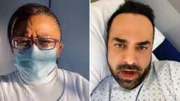 Ariel Miramontes se divierte hasta en el hospital: enfermera le ayuda a grabar un TikTok