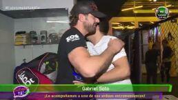 VIDEO: ¡Mira a Gabriel Soto en su entrenamiento de artes marciales!