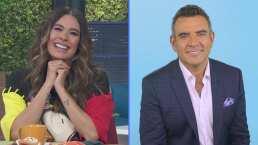 Galilea Montijo bromea sobre quienes aseguran que gracias a ella Héctor Sandarti regreso a Televisa