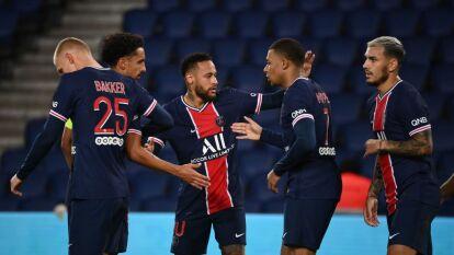 Tremenda paliza del PSG al Angers en la Ligue 1   La aplastante escuadra parisina dio un severo golpe de autoridad en el marcador y golearon 6-1.