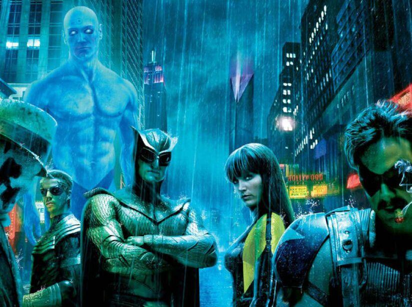 El tercer proyecto de Snyder fue Watchmen (2009), ambientada en 1985 donde súper héroes disfrazados son parte de la sociedad.