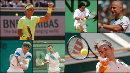 Nadal, Federer y los que han jugado más partidos en Roland Garros | El conteo de los que acumulan más juegos en el Abierto de Francia.