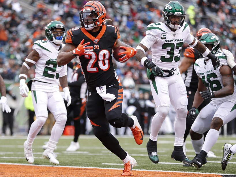 New York Jets v Cincinnati Bengals