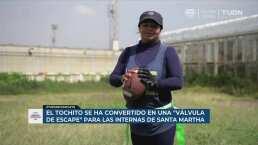 El tochito, el escaparate deportivo en el penal de Santa Martha