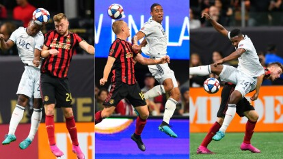 Con gol de Franco Escobar al minuto 70 el Atlanta Unitad se impone al New England Revolution.
