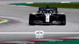 Lewis Hamilton regresó a los entrenamientos con Mercedes