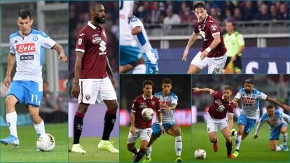 Estas escuadras se han enfrentado en 28 ocasiones, el Napoli ha superado a la escuadra del Torino por 12 partidos y han empatado en 11 ocasiones.