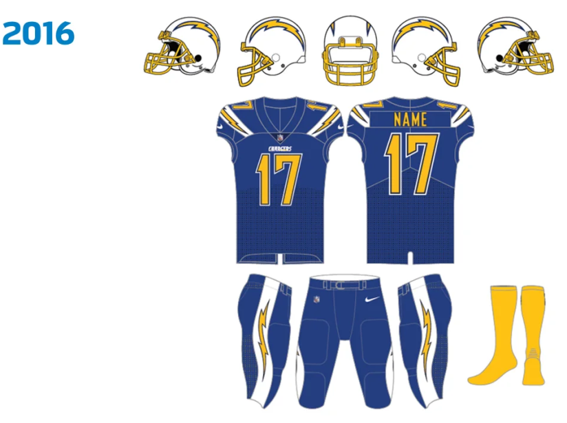 Uniforme Chargers 2016.png