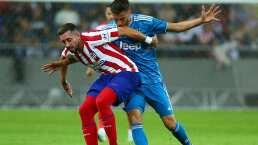 Héctor Herrera participó en triunfo del Atlético ante la Juventus