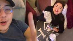 A Mariana Botas le gusta oler los calcetines sucios y su hermano la delata