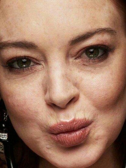 En redes sociales criticaron el aspecto de la actriz Lindsay Lohan, quien a juicio de sus detractores, ¡parece una mujer de 60 años!