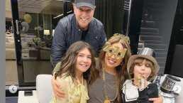 En un yate y con champaña: Así le da la bienvenida Thalía al 2020