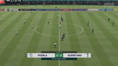 Jimmy Gómez le pone fin a la racha ganadora del Puebla de Santiago Ormeño.