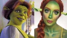 Tiktoker hace cosplay de Fiona y su cara parece tallada por los mismos ángeles