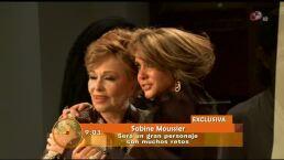 Sabine Moussier realizó casting para La mal querida