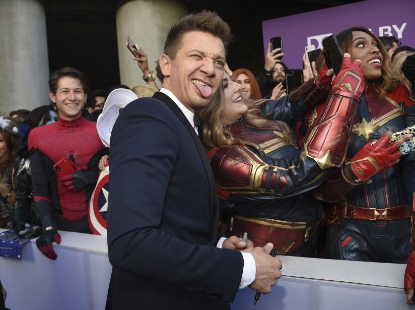 La última alfombra de Avengers