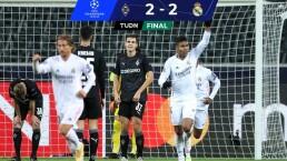 Real Madrid evita cuarto descalabro en Champions en la última jugada