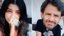 Estas fueron las caras de Aislinn y Eugenio Derbez al escuchar la letra sucia de una de las canciones de Bad Bunny