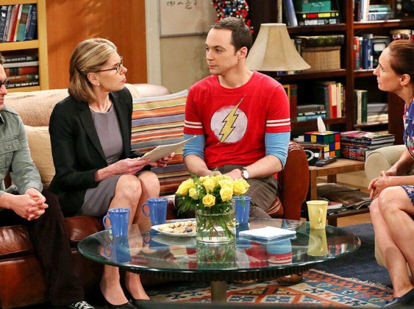 7. Laurie Metcalf: La actriz es recordada como Mary Cooper, la madre de Sheldon.