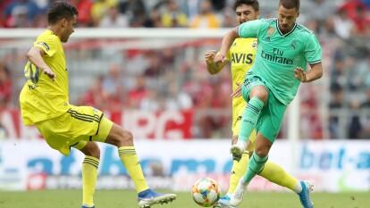 Eden Hazard cayó lesionado del recto anterior del muslo izquierdo y causa baja para el debut liguero del Real Madrid ante el Celta.