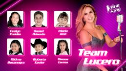 El Team Lucero ya tiene a sus últimos semifinalistas de La Voz Kids