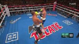 Round 3: Canelo comienza a contragolpear a Kovalev