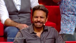 Juego exclusivo: Eugenio Derbez y Michelle Rodríguez juegan 'Basta'