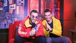Manuel y Julián Turizo contentos de aportar su talento al Team Rivera