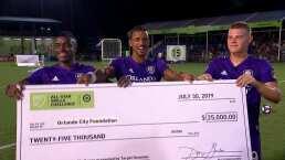 Estas son las mejores acciones del MLS Skill Challenge