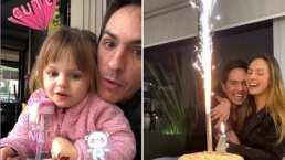 """Mauricio Ochmann se deja consentir por Kailani y Lorenza en su cumpleaños: """"Al lado de estas hermosuras"""""""