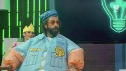 Game Time: Diego de Erice imita a Juan Gabriel en la prueba 'Adivínala' y canta 'El Noa Noa'