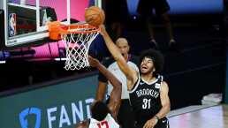 Brooklyn derrota a Wizards en gran juego de Caris LeVert