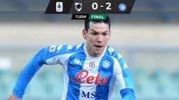Napoli gana a la Sampdoria y Chucky no jugará ante Inter