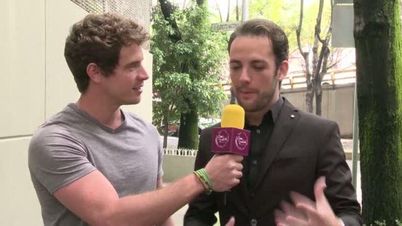 Óscar Medellín entrevista al nuevo villano Guillermo Ruesga