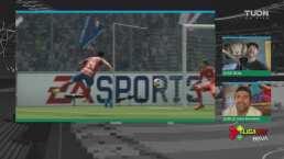 ¡El virtual es más goleador! Oribe marca su doblete frente al América