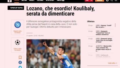 ¡Lozano, qué debut! Koulibaly, una tarde para olvidar