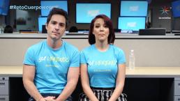 ¿Qué hacen Mauricio Ochmann y Fernanda Castillo para tener cuerpower?