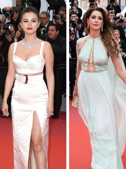 Celebridades como Selena Gomez, Frederique Bel y Eva Longoria desfilaron por la alfombra roja de la edición número 72 del Festival de Cine de Cannes 2019