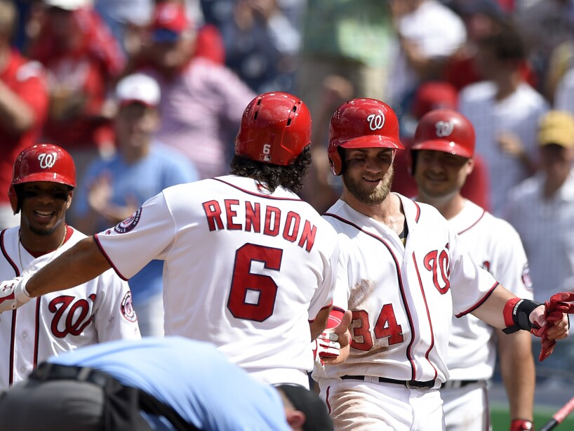 Anthony Rendon,Bryce Harper