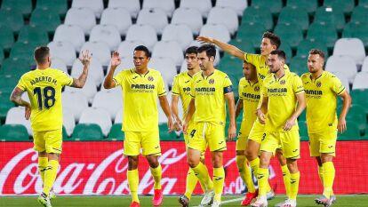 Real betis continúa sin demostrar su buen futbol, y esta vez caen 0-2 en el Benito Villamarin frente al Villarreal.