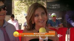 Mara Escalante guarda el personaje de Doña Lucha